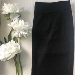 J.Crew Pencil Skirt (black)